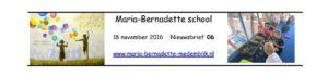 nieuwsbrief-maria-bernadette-school